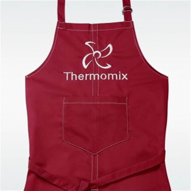 Tablier De Cuisine Thermomix Rouge Marque Vorwerk